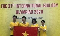 Việt Nam đoạt 4 giải tại Olympic Sinh học quốc tế