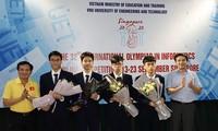 Học sinh Việt Nam giành Huy chương Vàng tại Olympic Tin học quốc tế 2020