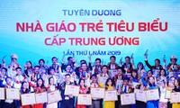 Xét chọn và tuyên dương Nhà giáo trẻ tiêu biểu cấp Trung ương