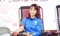 """Nữ sinh """"Sao Tháng Giêng"""" tham gia hiến máu tình nguyện vì cộng đồng"""