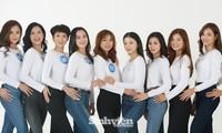 """Dàn thí sinh """"Hoa khôi sinh viên 2020"""" hội tụ tại Hà Nội"""