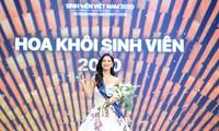 Nhan sắc rạng ngời của nữ sinh viên giành vương miện Hoa khôi Sinh viên Việt Nam 2020