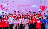 Đoàn Thanh niên Học viện Nông nghiệp Việt Nam nhận Huân chương Lao động hạng Nhì