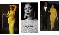 Beyonce mặc váy ôm sát, khoe body đẹp như tạc tượng