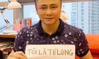 Sao Việt hào hứng theo trend 'ở nhà': 'Tôi là Tự Long, ở nhà cho nước nó trong'