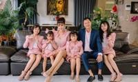 Cuộc sống cách ly của Vũ Thu Phương và chồng người hoàng tộc Campuchia cùng 4 con