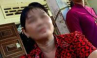 Bà Đ.T.M.L mẹ ruột của nghi phạm Hàng Thị Hồng Diễm