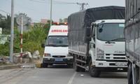BOT Sóc Trăng tiếp tục bị phản đối, xe cứu thương mắc kẹt ở trạm