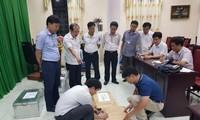 Tổ công tác tiến hành rà soát công tác chấm thi tại Hội đồng thi Sở Giáo dục và Đào tạo Hà Giang