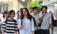 Thí sinh dự thi vào lớp 10 tại Hà Nội năm 2019. Ảnh: Đỗ Hợp