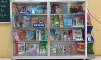Một góc thư viện sách của một trường tiểu học ở Hà Nội. Ảnh: Đỗ Hợp