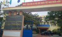 Trường THPT Cao Thắng, nơi xảy ra sự việc thầy giáo dạy thể dục nói những lời khiếm nhã với nữ sinh lớp 10