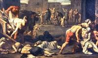 Đại dịch hạch đầu tiên mà loài người gánh chịu xảy ra vào triều vua nào?