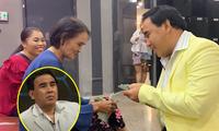 Quyền Linh tặng nóng tiền cho cặp mẹ chồng – nàng dâu nghèo gây xúc động