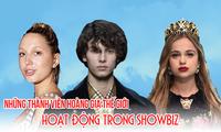 Những công chúa, hoàng tử thế giới gia nhập showbiz