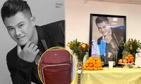 Sau 49 ngày Vân Quang Long mất, hé lộ vali đầy ắp đồ gia đình và món quà chưa kịp đến tay con gái