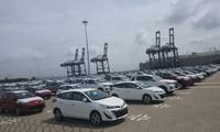 Loạt xe miễn thuế của Toyota và Mitsubishi đã về cảng Hiệp Phước
