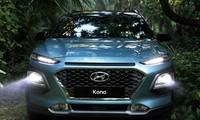 Hyundai Kona 2018 được đánh giá an toàn cao hơn nhờ cái thiện đèn pha.