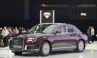 Aurus Senat, mẫu xe siêu sang Nga mới ra mắt tại Moscow Motor Show. Ảnh: Autocar