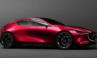 Mẫu hatchback Mazda 3 2019 thế hệ mới được thiết kế dựa trên concept KAI.