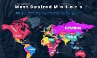Những hãng xe nào được tìm kiếm nhiều nhất qua Google?