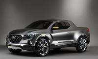 Bán tải của Hyundai sẽ dựa trên concept Santa Cruz.