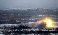 Ukraine tổ chức nhiều cuộc tập trận giữa lúc căng thẳng với Nga