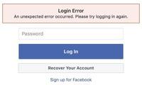 Người dùng Facebook sợ bị hack vì tài khoản bỗng nhiên đăng xuất.