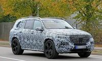 Mẫu SUV Mercedes-Maybach GLS được phác thảo.