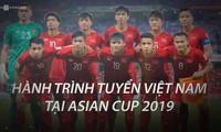 Hành trình của tuyển Việt Nam tại Asian Cup 2019