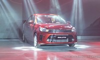 KIA Soluto cùng phân khúc với Toyota Vios.