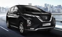 Nissan Livina 2019 có thiết kế mặt trước V-Motion.