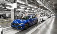Honda Civic - mẫu xe duy nhất đang được sản xuất tại nhà máy Swindon sắp đóng cửa.
