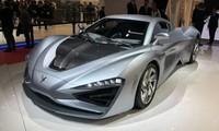 Siêu xe điện Arcfox GT được trưng bày tại Geneva Motor Show.