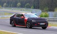 Kia Stinger thế hệ mới bắt đầu chạy thử nghiệm tại Nürburgring