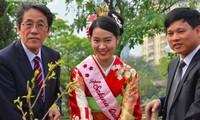 Nữ hoàng Hoa anh đào 2018 Rika Takenaka.