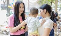 Hoa hậu Mai Phương Thuý ủng hộ 700 triệu cho trẻ bị hở hàm ếch