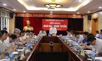 Đồng chí Phạm Minh Chính phát biểu chỉ đạo hội nghị.