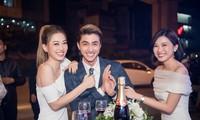 Á hậu Phương Nga đụng độ 'người tình màn ảnh' của bạn trai Bình An ở sự kiện
