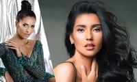 Vẻ đẹp nóng bỏng của người mẫu lai đăng quang Hoa hậu Siêu quốc gia 2019