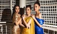 Dàn Hoa- Á hậu diện trang phục đồng điệu, khoe sắc nóng bỏng trên thảm đỏ