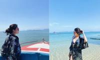 Á hậu Huyền My mặc bikini nóng bỏng ở Thái Lan