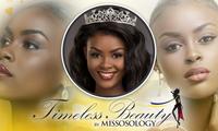 Người đẹp Uganda Evelyn Namatovu - Á hậu 2 cuộc thi Hoa hậu Quốc tế 2019 đã được chuyên trang Missosology bình chọn giành danh hiệu 'Timeless beauty - Vẻ đẹp vượt thời gian' 2019.