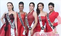 Ra mắt báo giới, nhan sắc thí sinh Miss Universe Philippines lại gây tranh cãi