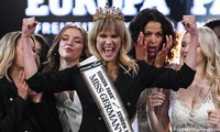 Ngỡ ngàng nhan sắc bà mẹ 35 tuổi vừa đăng quang 'Hoa hậu Đức 2020'