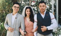 Hội bạn thân khoe ảnh 'lầy lội' ở đám cưới Tóc Tiên - Hoàng Touliver