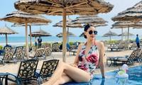 Hà Kiều Anh 'vượt mặt' các đàn em trẻ đẹp khi liên tục đăng ảnh bikini nóng bỏng