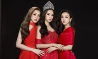 Top 3 Hoa hậu Việt Nam 2018 hội ngộ, khoe nhan sắc ngày càng đỉnh cao