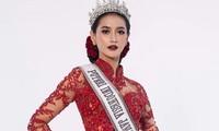 Tân Hoa hậu Indonesia là siêu mẫu cao 1m78, trình catwalk 'không phải dạng vừa'