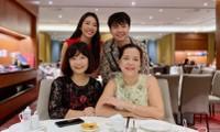 Á hậu Thuý Vân khoe khéo mẹ chồng tương lai trong Ngày của Mẹ